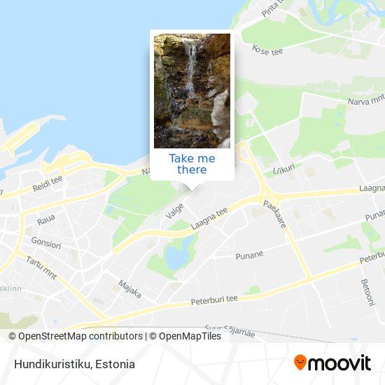 Hundikuristiku map