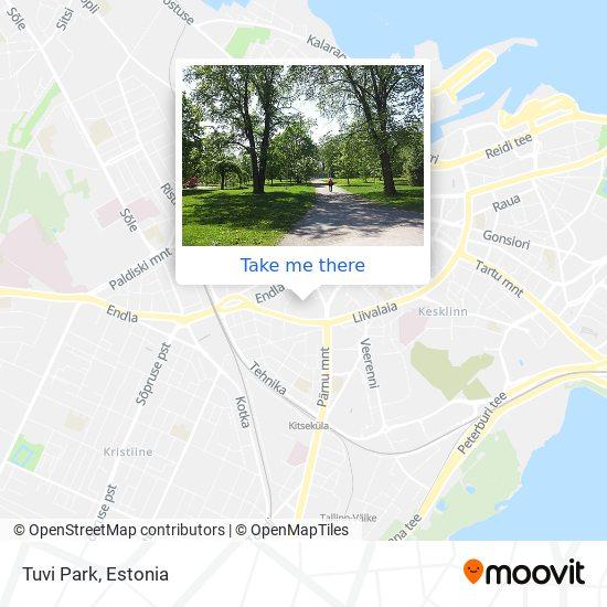 Tuvi Park map