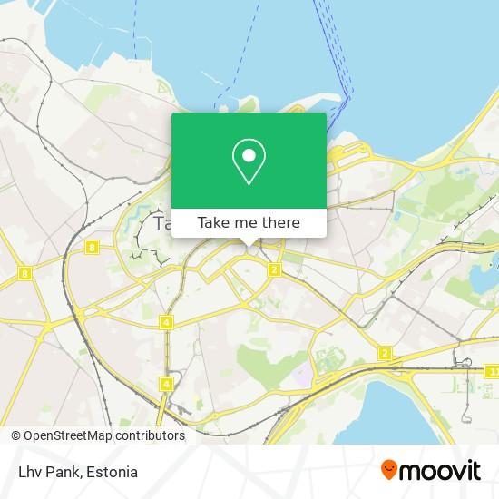 Lhv Pank map