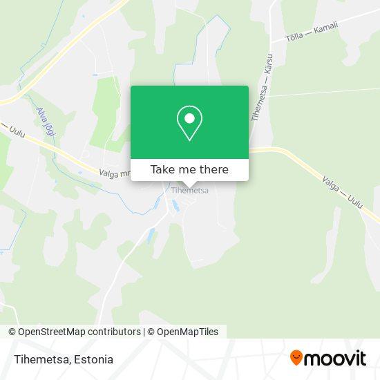 Tihemetsa map