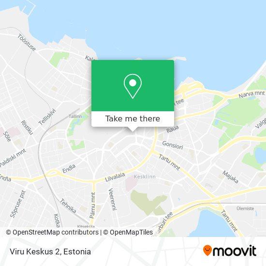 Viru Keskus map