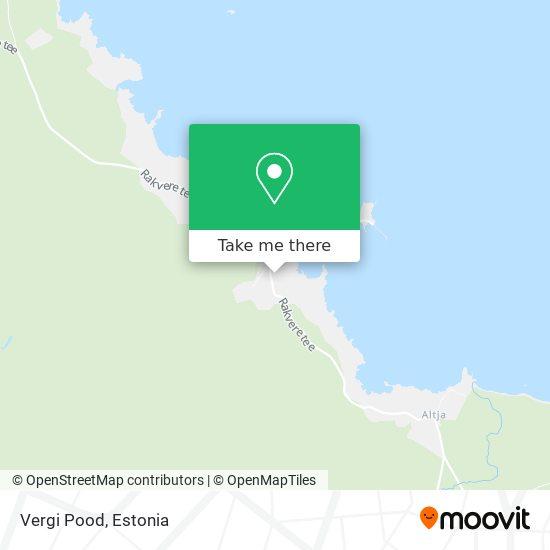Vergi Pood map