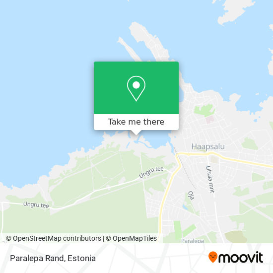 Paralepa Rand map