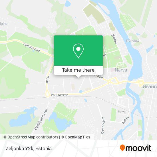 Zeljonka map