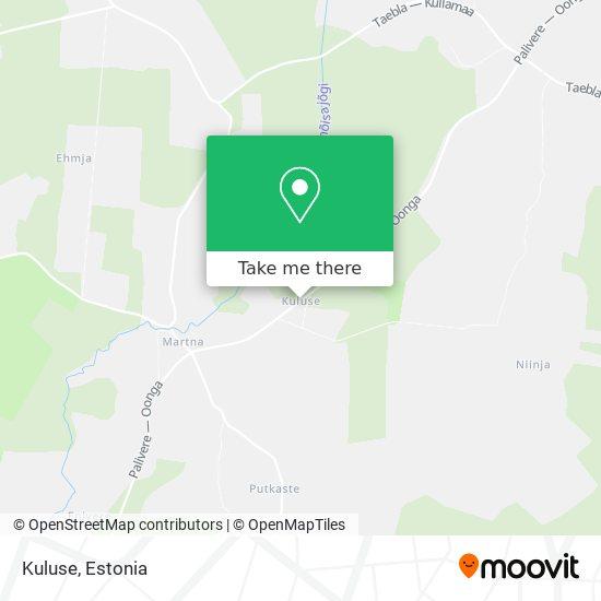 Kuluse map