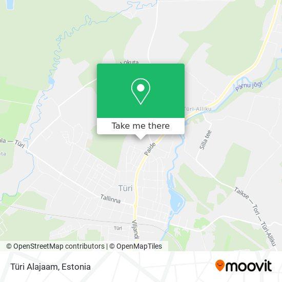 Türi Alajaam map