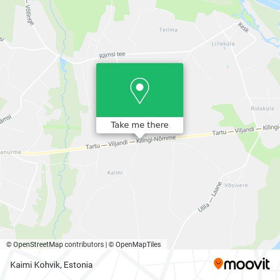 Kaimi Kohvik map