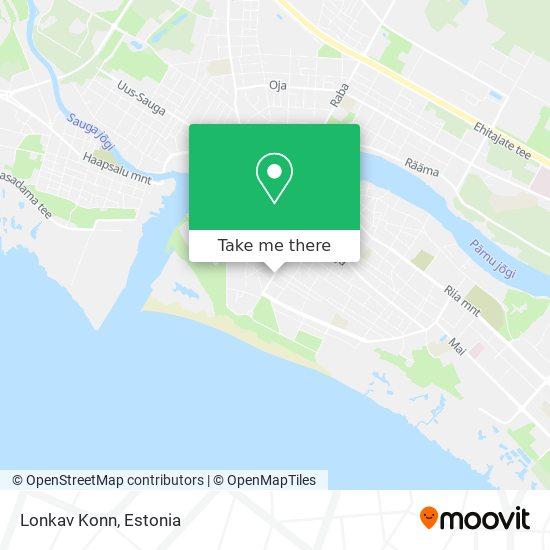 Lonkav Konn map