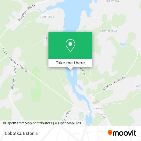 Lobotka map