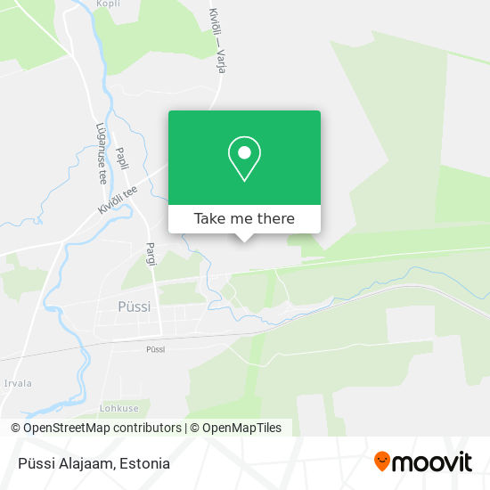 Püssi Alajaam map