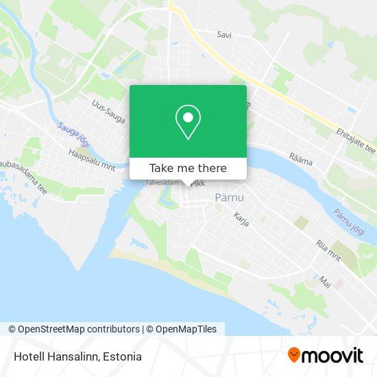 Hotell Hansalinn map