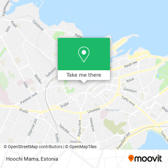 Hoochi Mama map