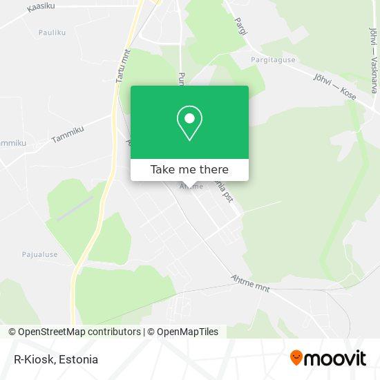 R-Kiosk map