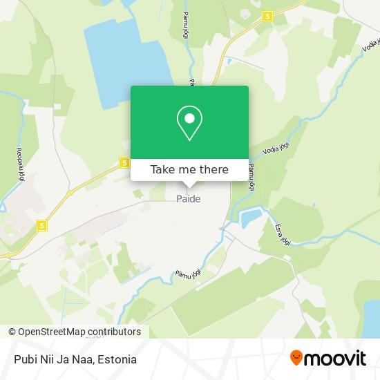 Pubi Nii Ja Naa map