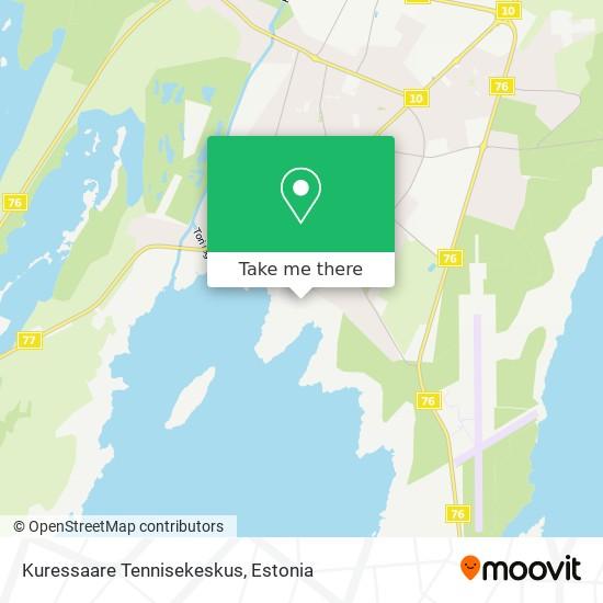 Kuressaare Tennisekeskus map