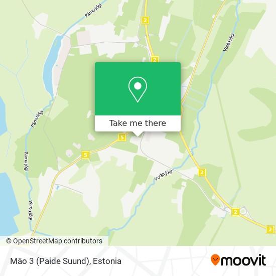 Mäo 3 (Paide Suund) map
