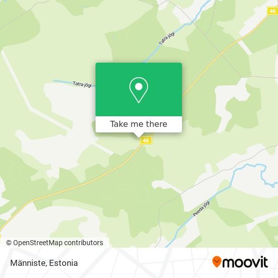 Männiste map