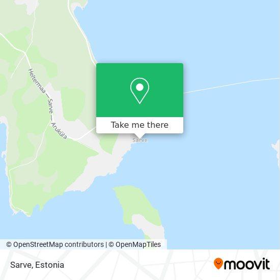 Sarve map
