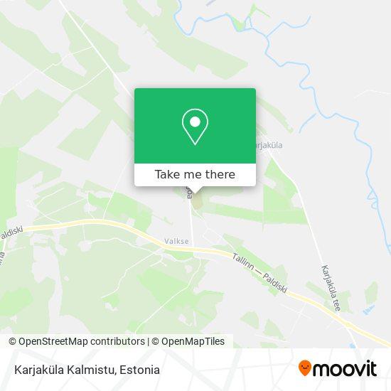 Karjaküla Kalmistu map