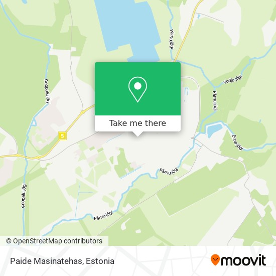 Paide Masinatehas map