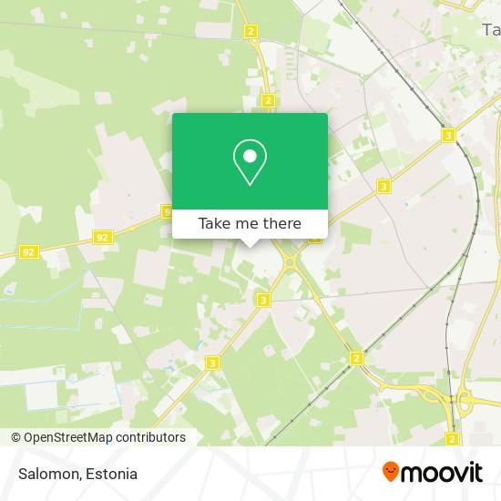 Карта Salomon