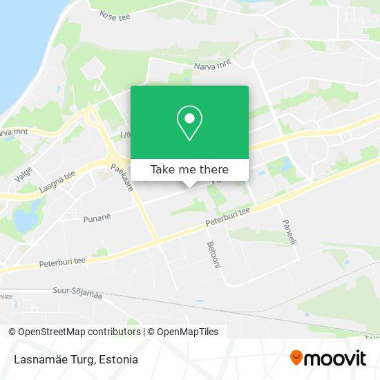 Lasnamäe Turg map
