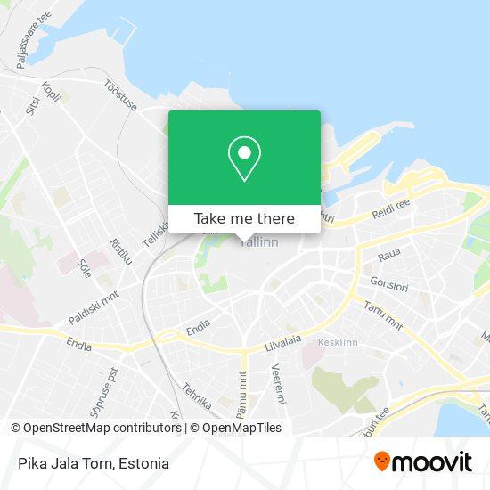 Pika Jala Torn map