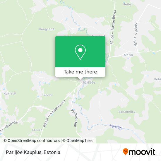 Pärlijõe Kauplus map