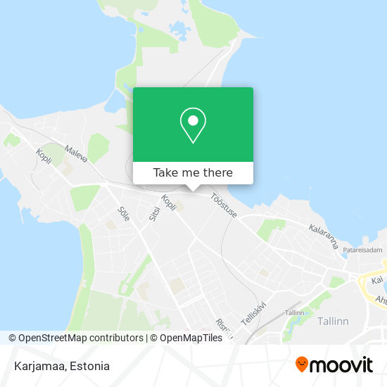 Karjamaa map