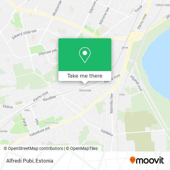 Alfredi Pubi map