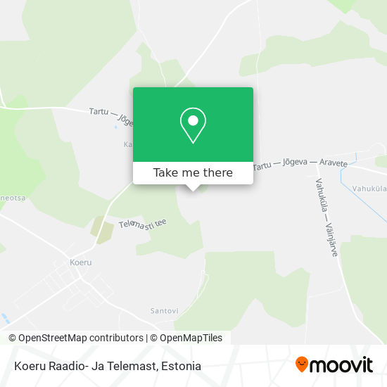 Koeru Tv Mast map