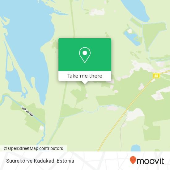 Suurekõrve Kadakad map
