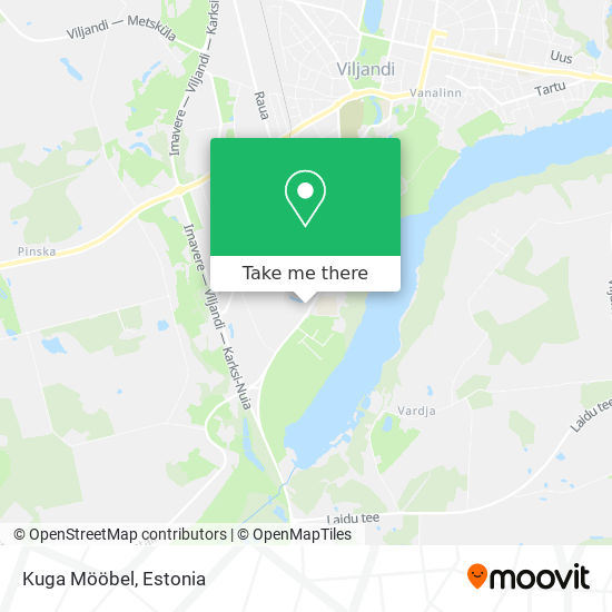 Kuga Mööbel map
