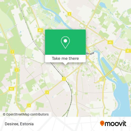 Desiree map