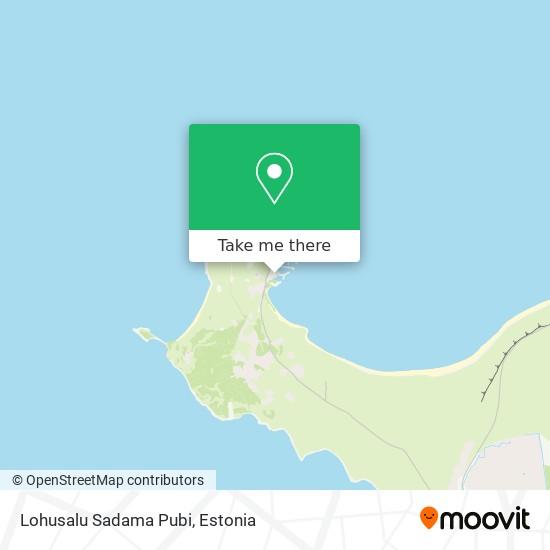 Lohusalu Sadama Pubi map