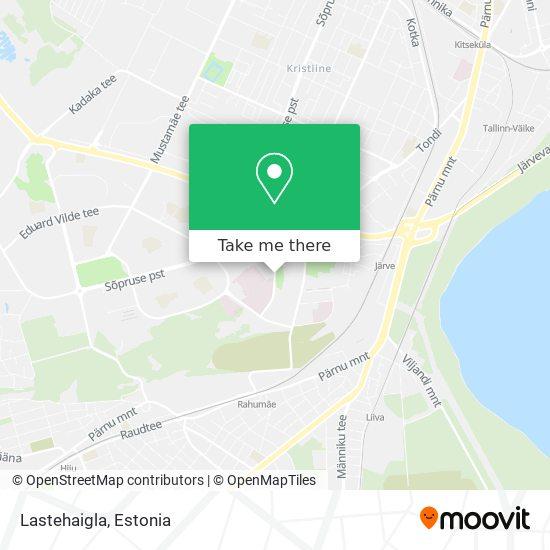 Lastehaigla map