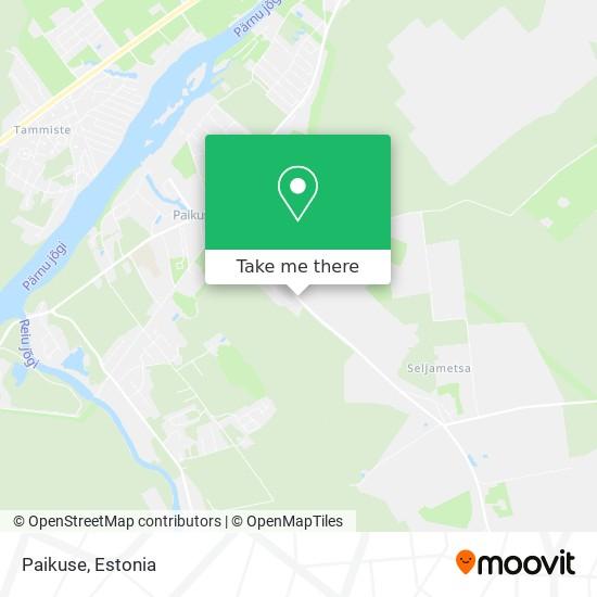 Paikuse map