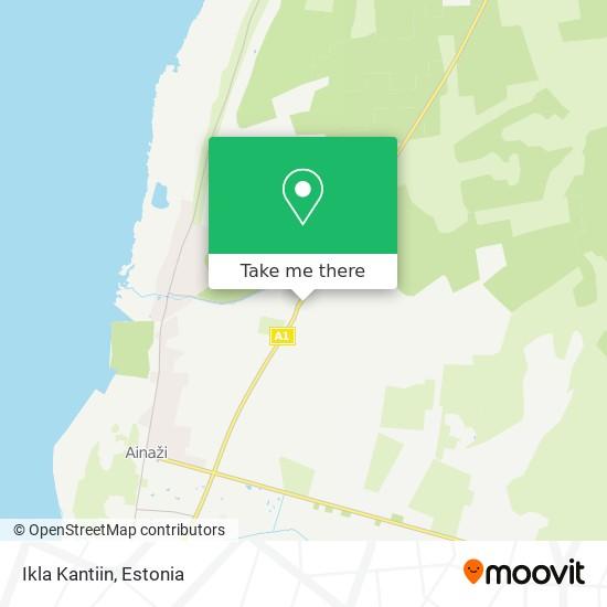 Ikla Kantiin map