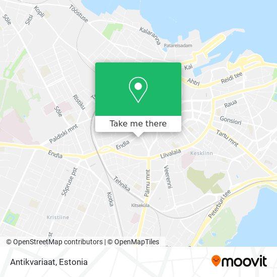Antikvariaat map