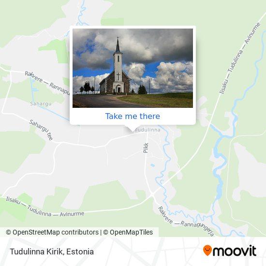 Tudulinna Kirik map
