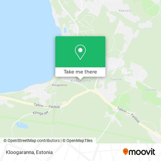 Kloogaranna map
