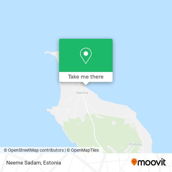 Neeme Sadam map