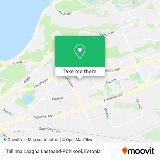 Tallinna Lasteaed Kirsike map