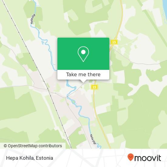 Карта Hepa Kohila