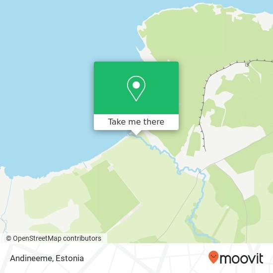 Andineeme map
