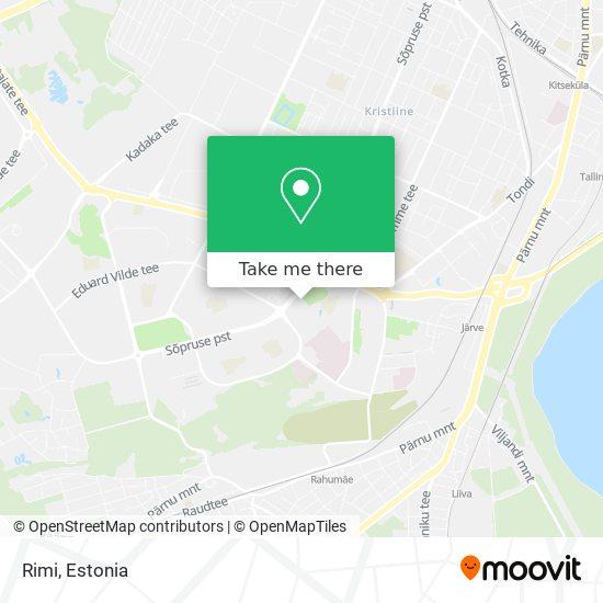 Magistrali Keskus map