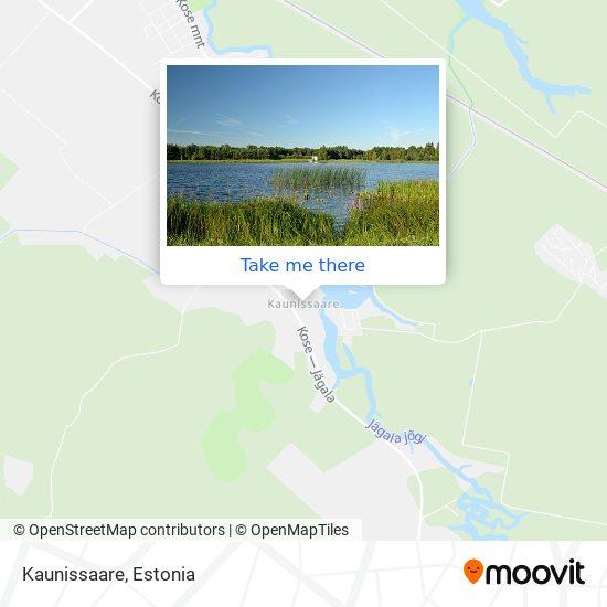 Kaunissaare map