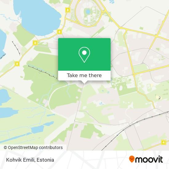 Kohvik Emili map