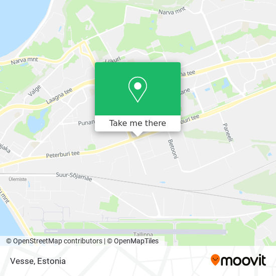 Vesse map