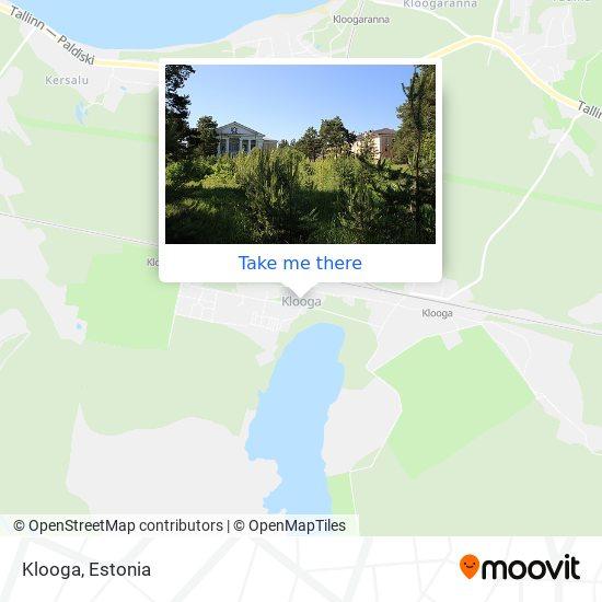 Klooga map